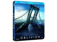 Oblivion - Limited Edition Steelbook [Blu-ray] [2013] [Region Free] - NEW