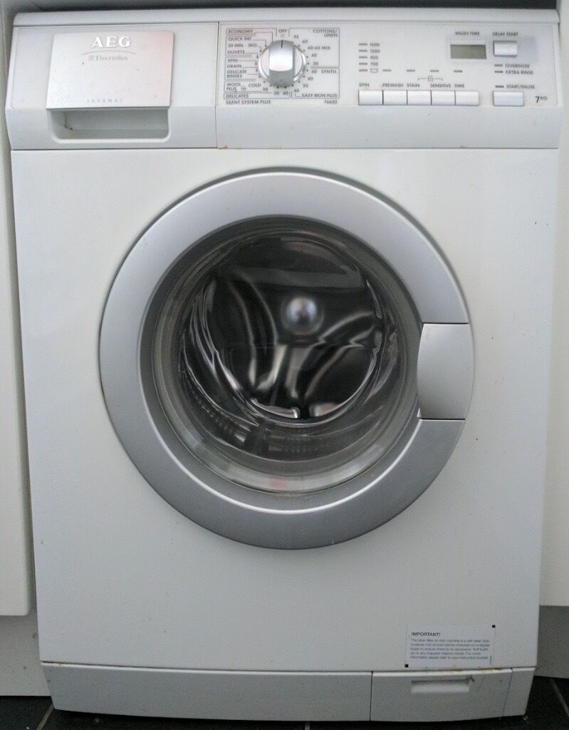 Aeg Washing Machine Freestanding 7kg Many Programmes