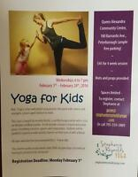 2 Days Left To Sign Your Child Up for Kids' Yoga in February!