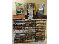 110 dvds for sale job lot