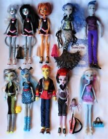 Werecats, Toralei, Heath... Monster High dolls from £7 each