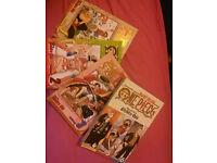 One piece manga books english 1 to 6