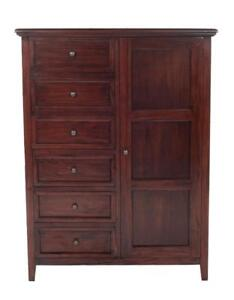 Modern Solid Wood Wardrobes, Solid Mahogany, Maple, Oak and Cherry - Fully Customizable