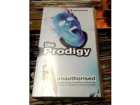 VHS Video The Prodigy - Unauthorised, released in 1997.
