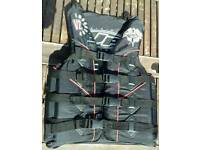 Jet Pilot Buoyancy Aid Multi Strap Impact Vest. Small Adult
