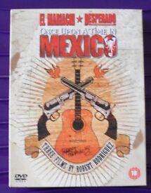 El Mariachi, Desperado and Once upon a time in Mexico
