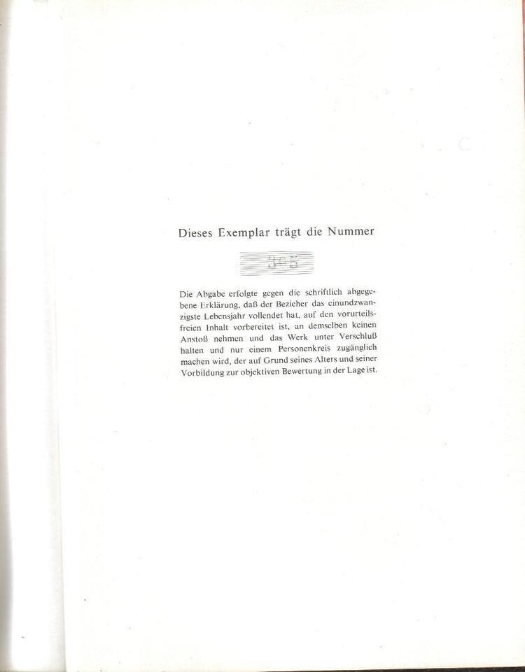 Moderne Enzyklopädie der Erotik. 2 Bd.