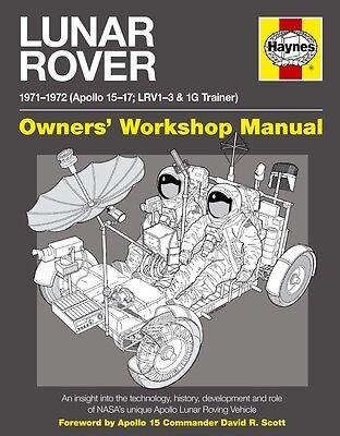 HAYNES LUNAR ROVER MANUAL HARDBACK BOOK NEW HAY5267
