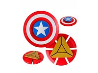 Captain America and Iron man fidget spinners