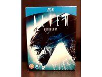 ALIEN ANTHOLOGY - Blu-ray 4 Disk Collection *Used As New* £10