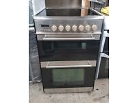 6 MONTHS WARRANTY Prestige Stainless steel, 60cm, double oven electric cooker FREE DELIVERY