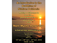 An introductory talk on the Buddhism of Nichiren Daishonin (Spirituality, Meditation, Mindfulness)