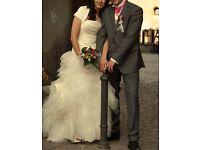Beautiful Cymbeline Gigi wedding dress size 10