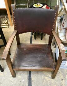 Vintage wooden chair. CHRISTCHURCH
