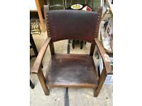 Vintage wooden chair. CHRISTCHURCH