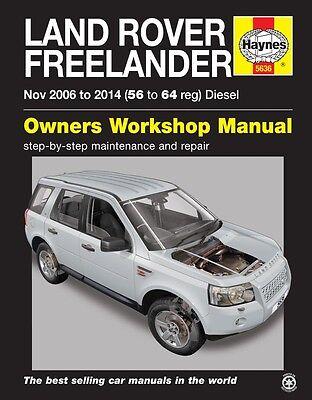 Haynes Manual 5636 Land Rover Freelander 2 Diesel Nov 2006 - 2014