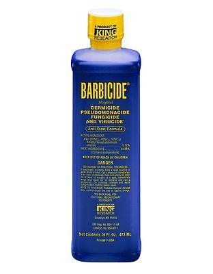 Barbicide Disinfectant Concentrate Solution Anti Rust Formula GERMICIDAL 473ml