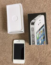 iPhone 4 white boxed. 8gb unlocked.