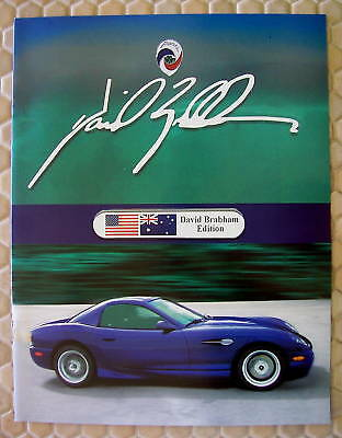PANOZ OFFICIAL ESPERANTE COUPE BRABHAM EDITION SALES BROCHURE 2003 USA EDITION