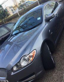 2008 jaguar xf diesel 2.7 auto grey with few scratches