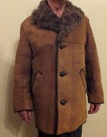 Genuine Sheepskin coat. Unwanted gift. Unworn.