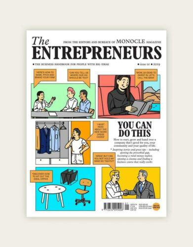 MONOCLE Magazine ~The Entrepreneurs Business Handbook # 1~ You Can Do This