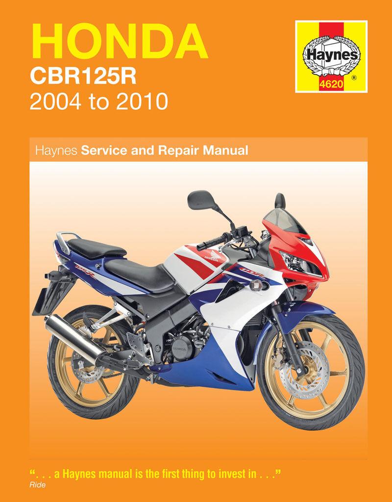 HAYNES 4620 MOTORCYCLE SERVICE REPAIR OWNERS MANUAL HONDA CBR125R 2004 - 2007