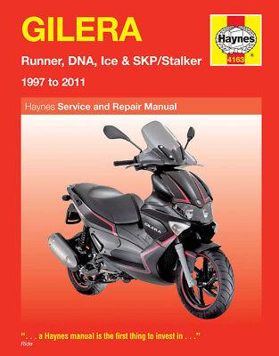 4163 Haynes Gilera Runner, DNA, Ice & SKP/Stalker (1997 - 2011) Workshop Manual