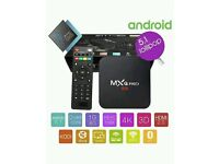 Android TV Boxes MXQ PRO 4k **latest kodi * best deal out there wifi or ethernet