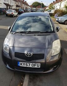 TOYOTA YARIS £1700 O.N.O., 3RD OWNER, GREAT CONDITION, MOT UNTIL SEPT 2018!