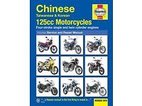 Haynes Manual 125cc Motorcyces Revised 2015 NEW
