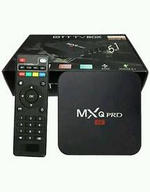 New mxq pro android tv box kodi 16.1 64 bit super fast
