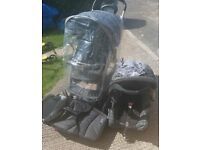 Graco Pushchair, Car Seat & Travel Cot