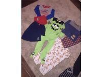 Boys pyjama bundle from M&S, H&M etc. 12-18mths. £10