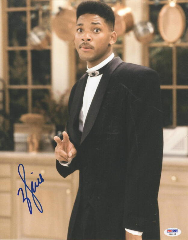 WILL SMITH SIGNED 11X14 PHOTO FRESH PRINCE OF BEL-AIR AUTOGRAPH PSA/DNA COA