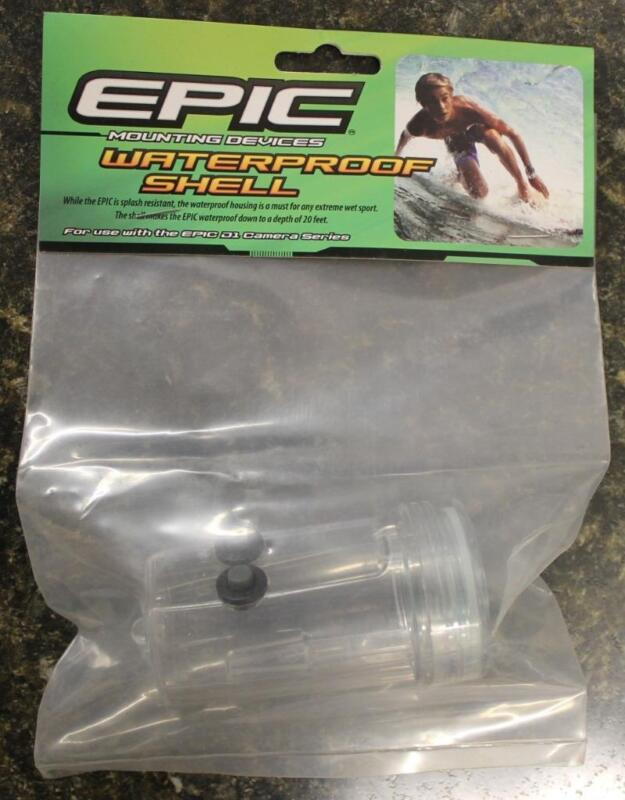 Epic Waterproof Casing Shell - D1 Series Action Cam Cameras STC-EPCWPC BRAND NEW