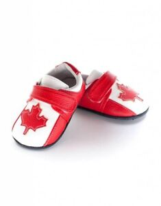 BNIB Jack & Lily Canadian Flag Shoes 6-12 months