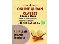 The Holy Quran learning
