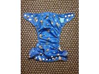 Charlie Banana One Size Cloth Nappy with 2 inserts | MONKEY DOO | £22 | GREAT CONDITION | Rawmarsh
