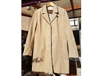 Gorgeous vintage suede ladies coat from the Great Coat Company, size 16