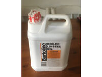 BARTOLINE BOILED LINSEED OIL 5 LITRES BRAND NEW