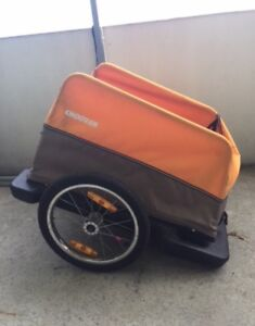 Croozer bike trailer cargo