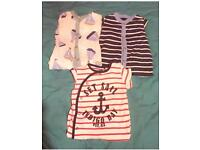 Baby clothes bundle 3-6 months, new coat and 11 other items