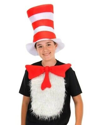 the cat in the hat isnta-tux kit halloween costume  Unisize Dr. Seuss
