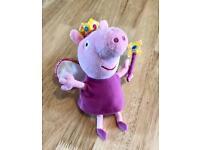 Fairy Peppa pig teddy
