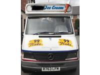 Ice cream van for sale