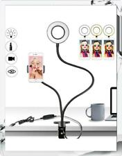 Selfie Ring LED Light with Cell Phone Holder Stand for Live Stream and Makeup