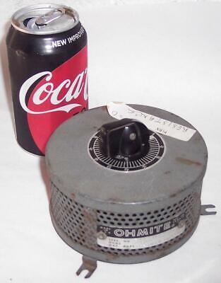 Vintage Ohmite Potentiometer Rheostat No. 34482 400 Ohms