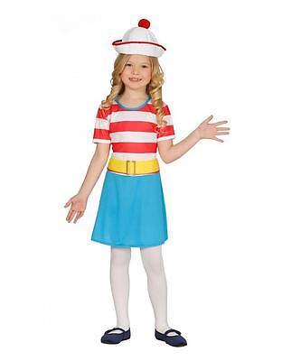 Matrosen Kostüm Kinder Mädchen - komplettes Matrosenkostüm (Kinder Matrosen Kostüm)