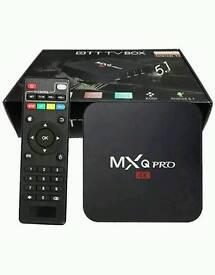 Smart tv android tv boxes mxq pro new christmas gifts kodi 16.1